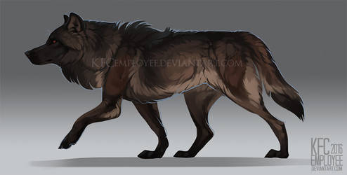 Black phase wolf adopt resale: CLOSED