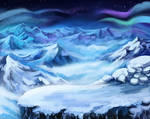 Northern call: Snowy mountains