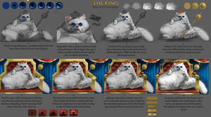 The king: steps and textures by Chickenbusiness