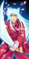 Inuyasha Bookmark by Mireielle