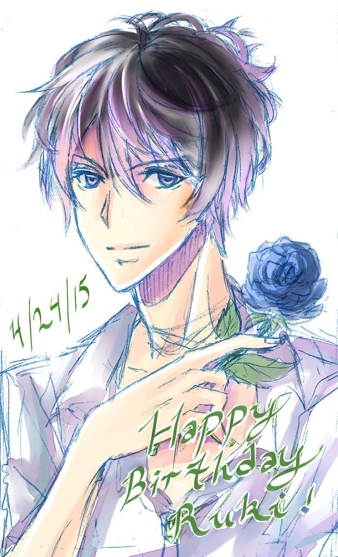 Happy Birthday Ruki! by Mireielle