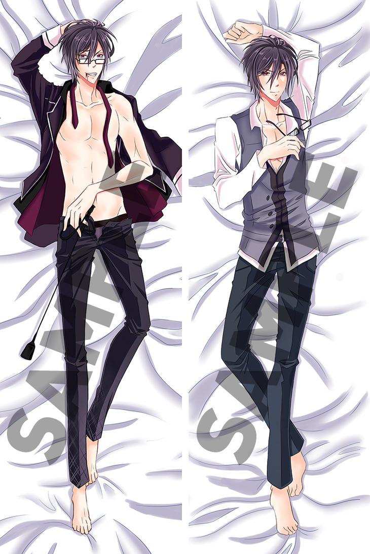 Diabolik Lovers__Reiji Sakamaki Body Pillowcase by Mireielle