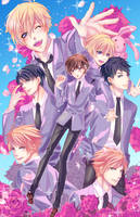 Ouran High School Host Club by Mireielle