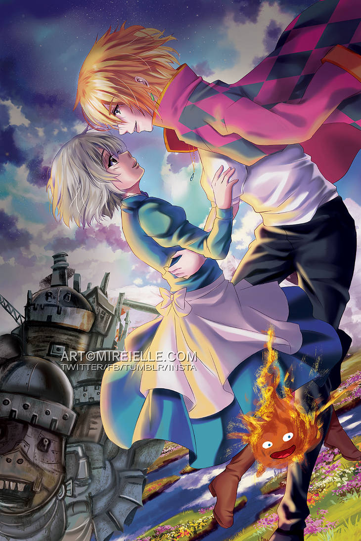 Howls Moving Castle by Mireielle