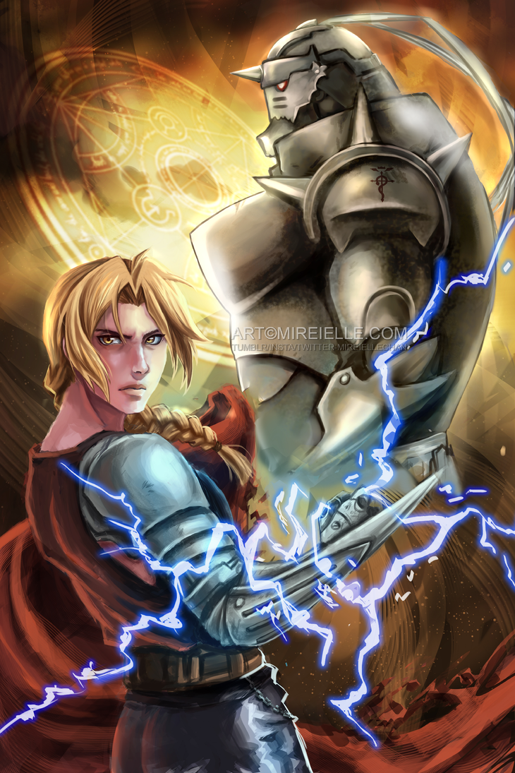 Fullmetal Alchemist Brotherhood by Mireielle