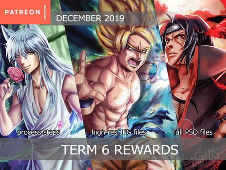 Patreon Term 6 Rewards Summary