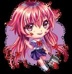 Chibi Yuno by Ginmaart