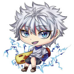 Killua Chibi Art