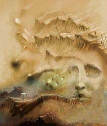Crucifixion 3 by alheidary