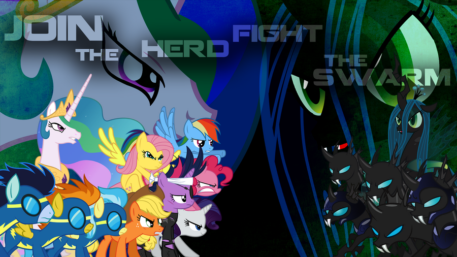 Join the Herd Fight the Swarm by Nothingall3n4