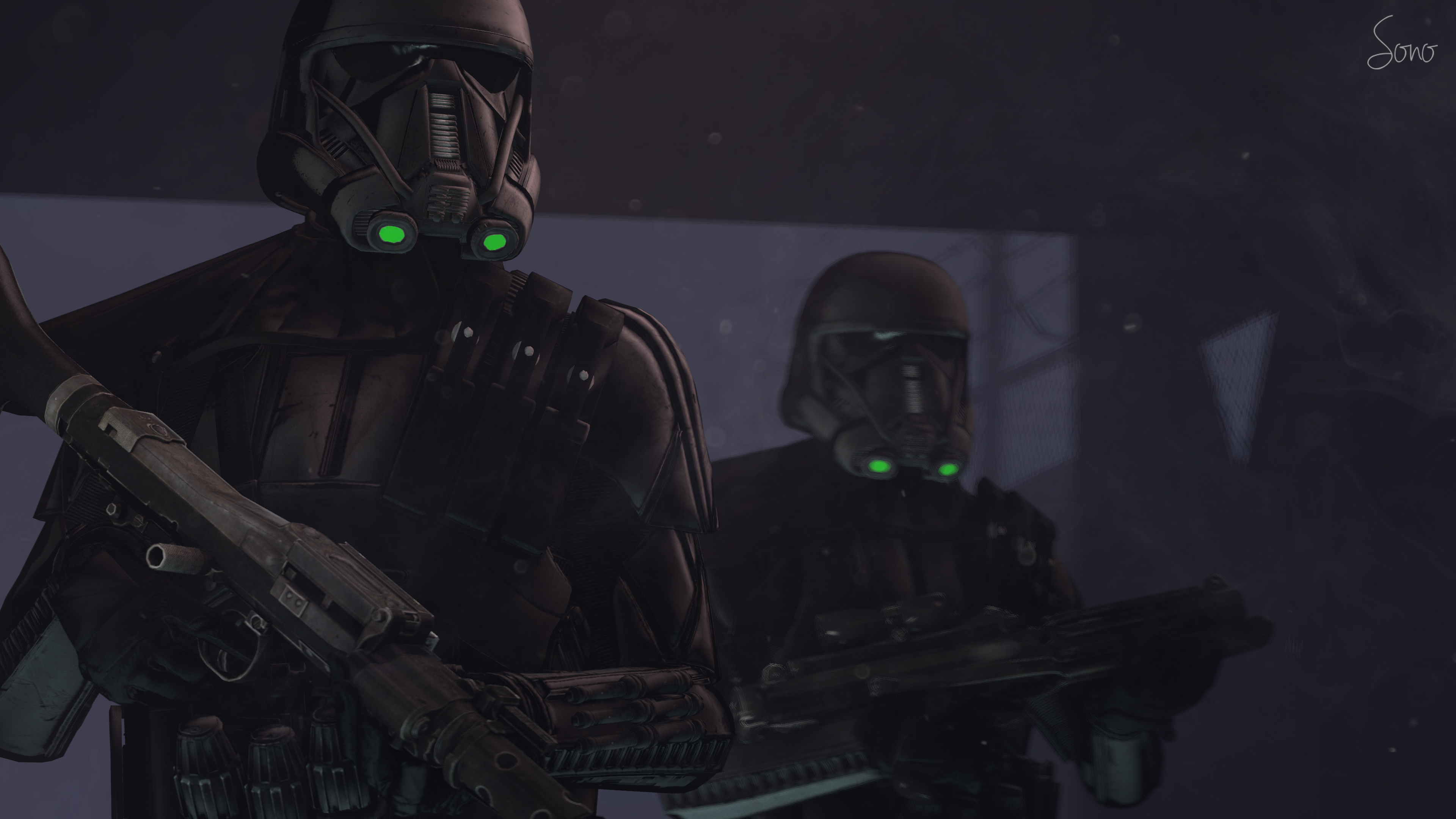 Death Trooper Battlefront For XNALara XPS By ShaunsArtHouse On