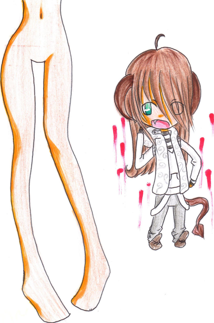 I Like 2 Draw Legs By 100AnimeGirl100