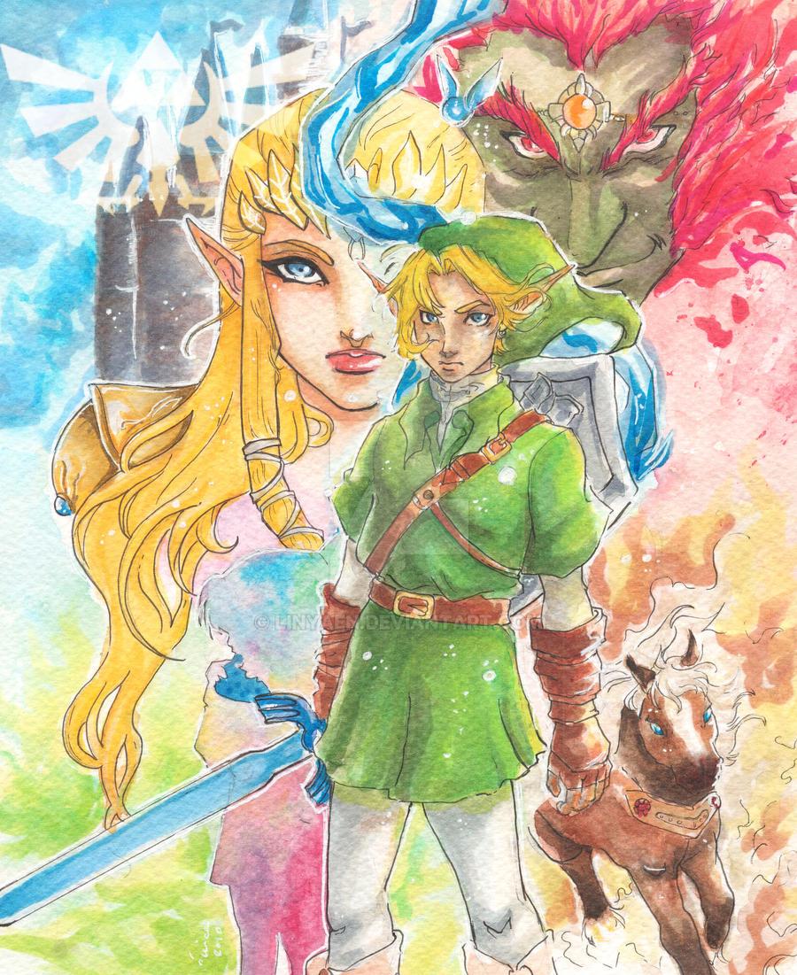 +Legend of Zelda+ by Linyaen