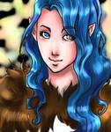 Arya portrait by Linyaen