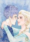 Collab:Jack Frost+Elsa