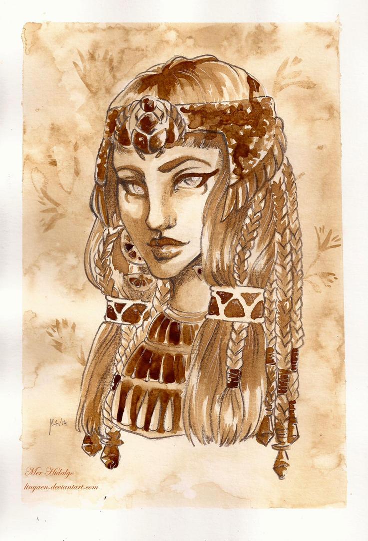 Com: Ancient protrait by Linyaen