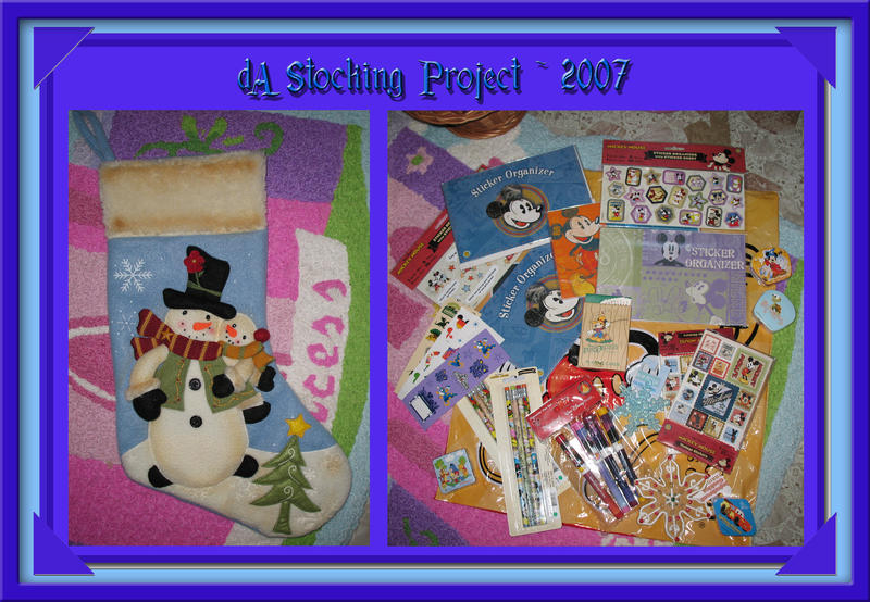 Christmas Stocking and Fillers by WDWParksGal