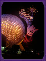 Epcot at Night 2 by WDWParksGal