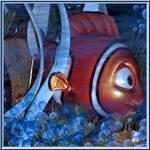 Nemo Quilt Piece DisneyDreamer