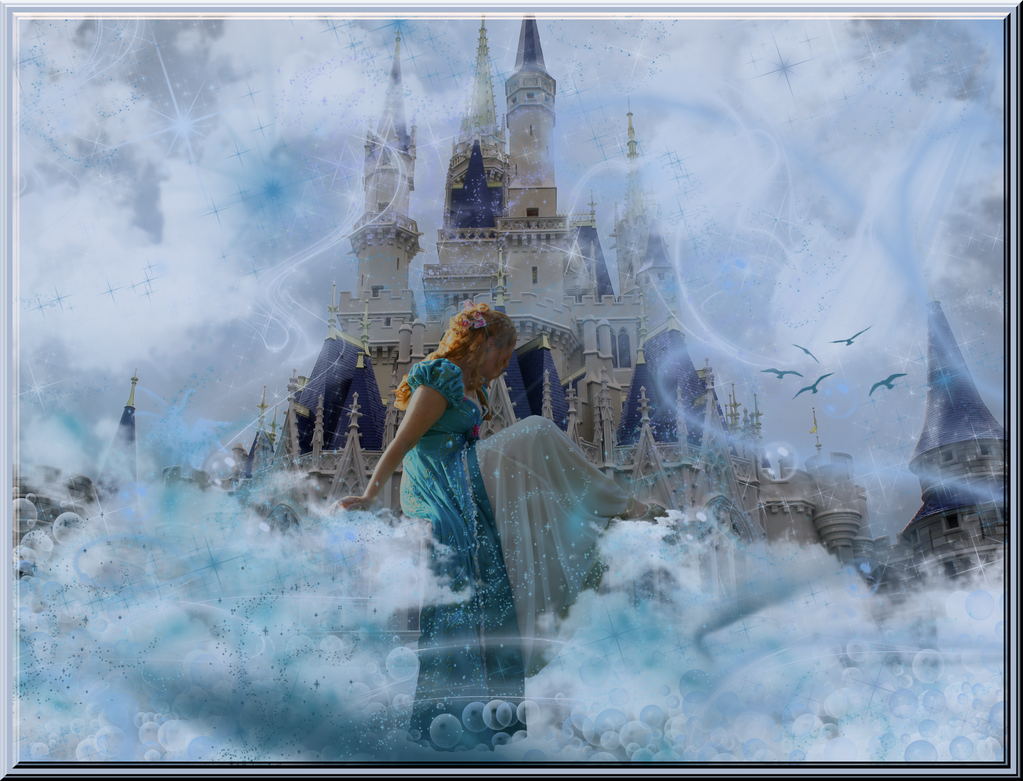 Giselle Dreams of her Castle by WDWParksGal