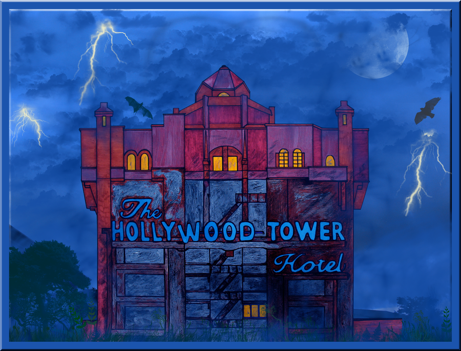 Tower Of Terror Collab By Wdwparksgal On Deviantart