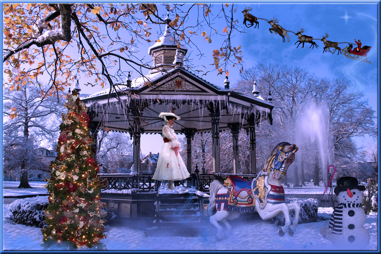 Mary poppins christmas fun by wdwparksgal on deviantart - Mary poppins wallpaper ...