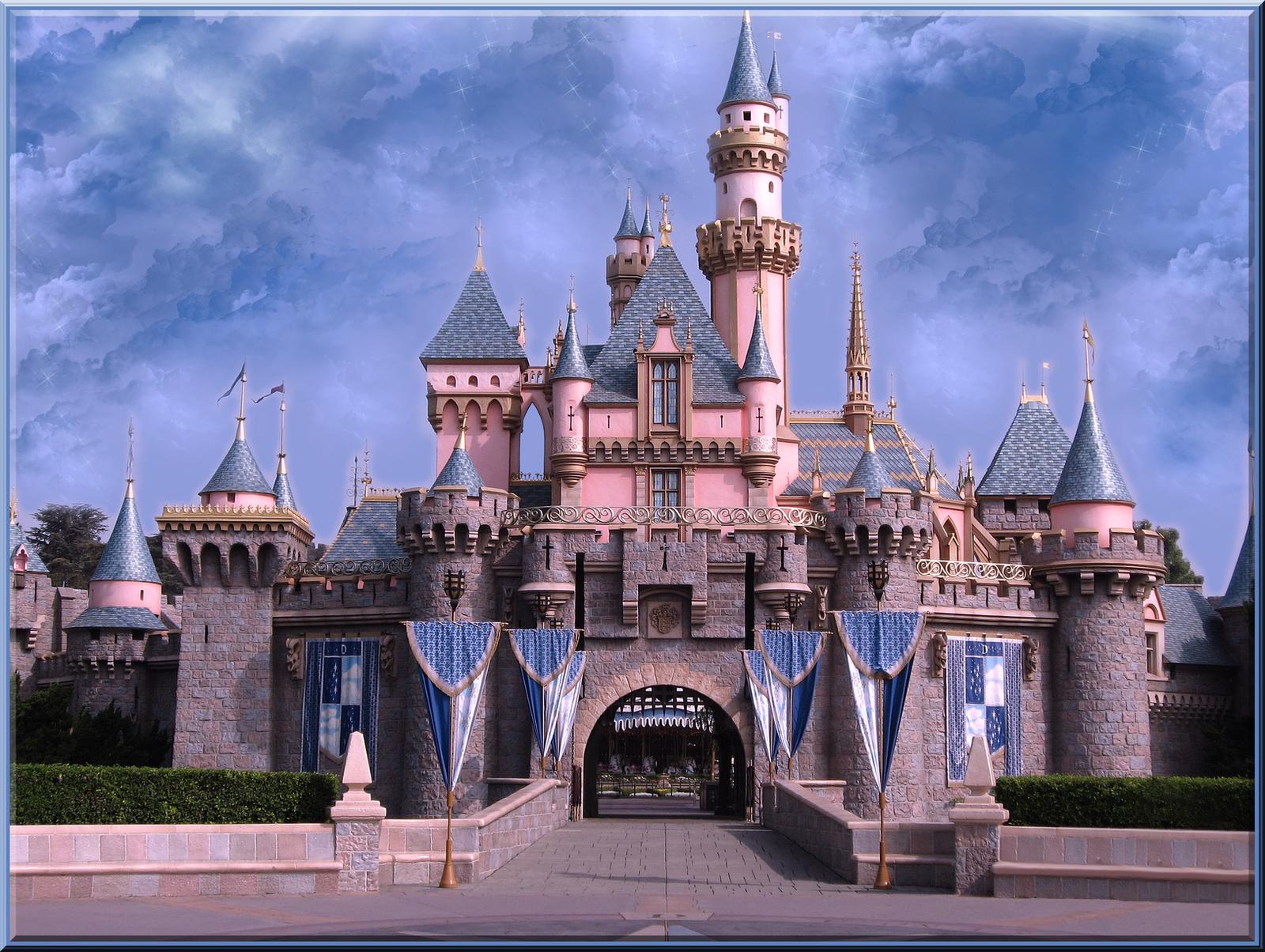 Sleeping Beauty Castle Dl