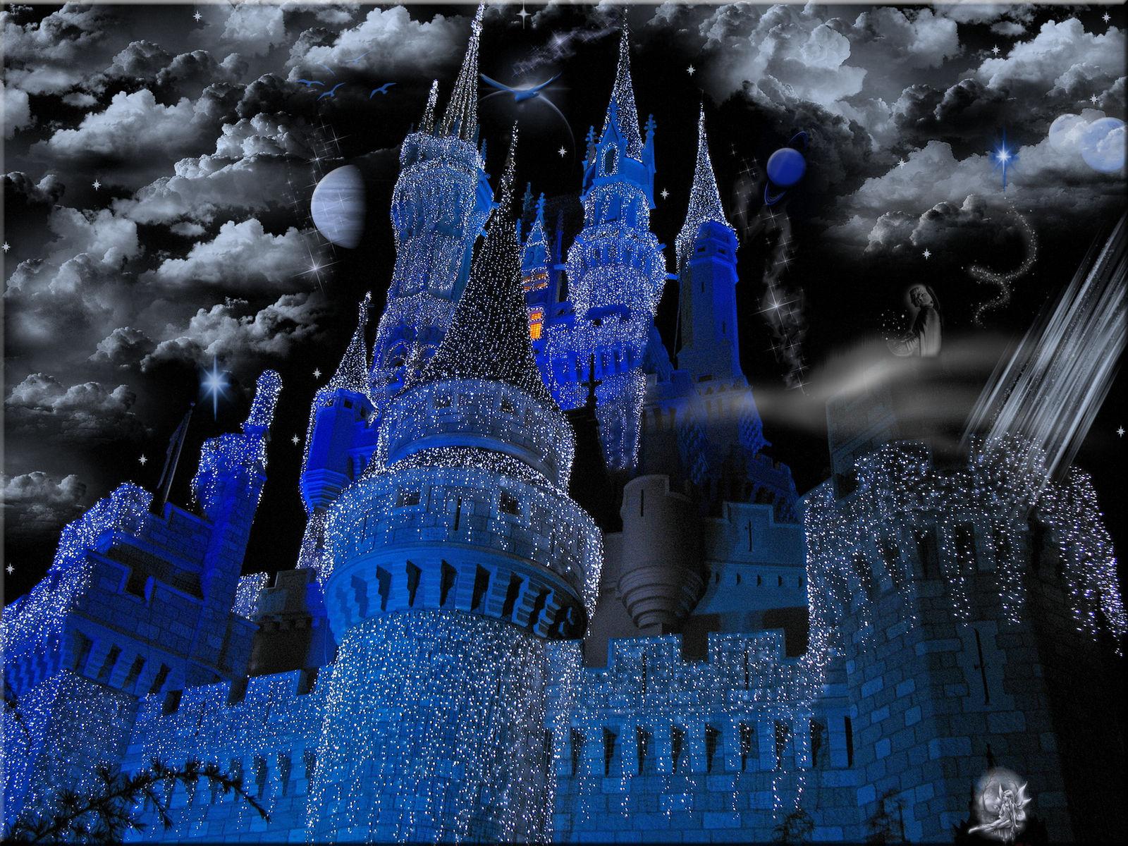 Cinderella Castle Christmas.Cinderella Castle Christmas By Wdwparksgal On Deviantart