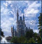 Castle Day Time Fantasy BKG