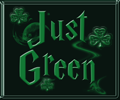 Just Green St Patrick Icon by WDWParksGal
