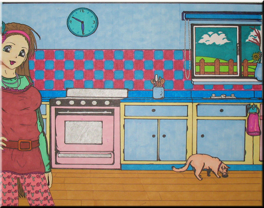 Retro Kitchen by WDWParksGal