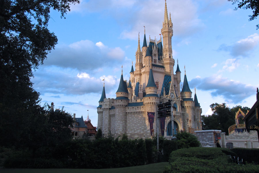 Cinderella Castle at MK