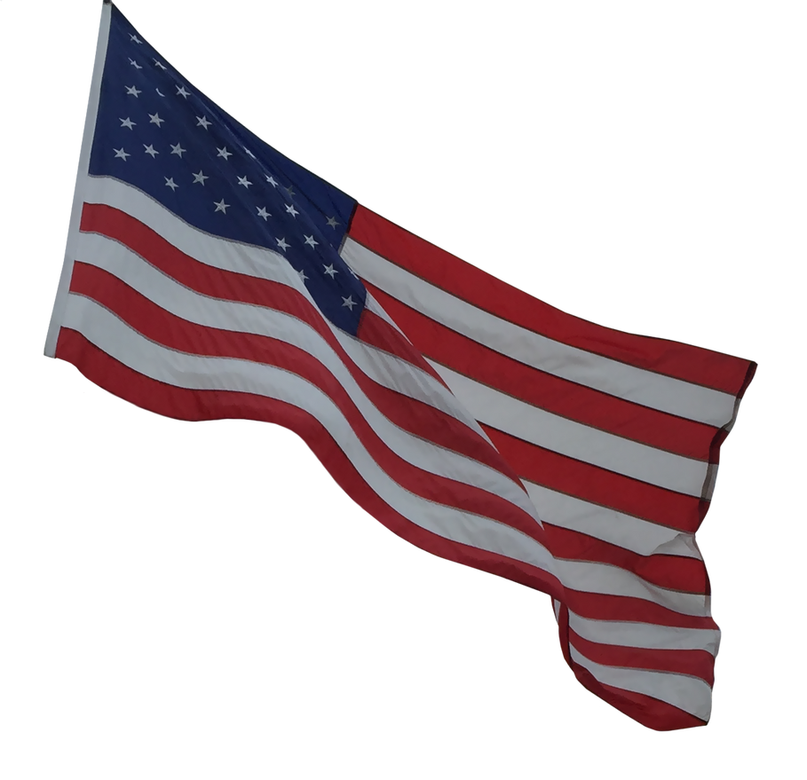 American Flag by WDWParksGal