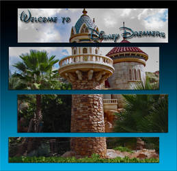 Welcome to DisneyDreamers Banner by WDWParksGal