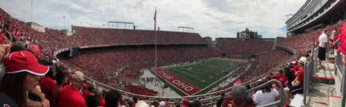 Ohio Stadium in Columbus Ohio