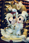 Mickey and Minnie Christmas Phone Wallpaper by WDWParksGal