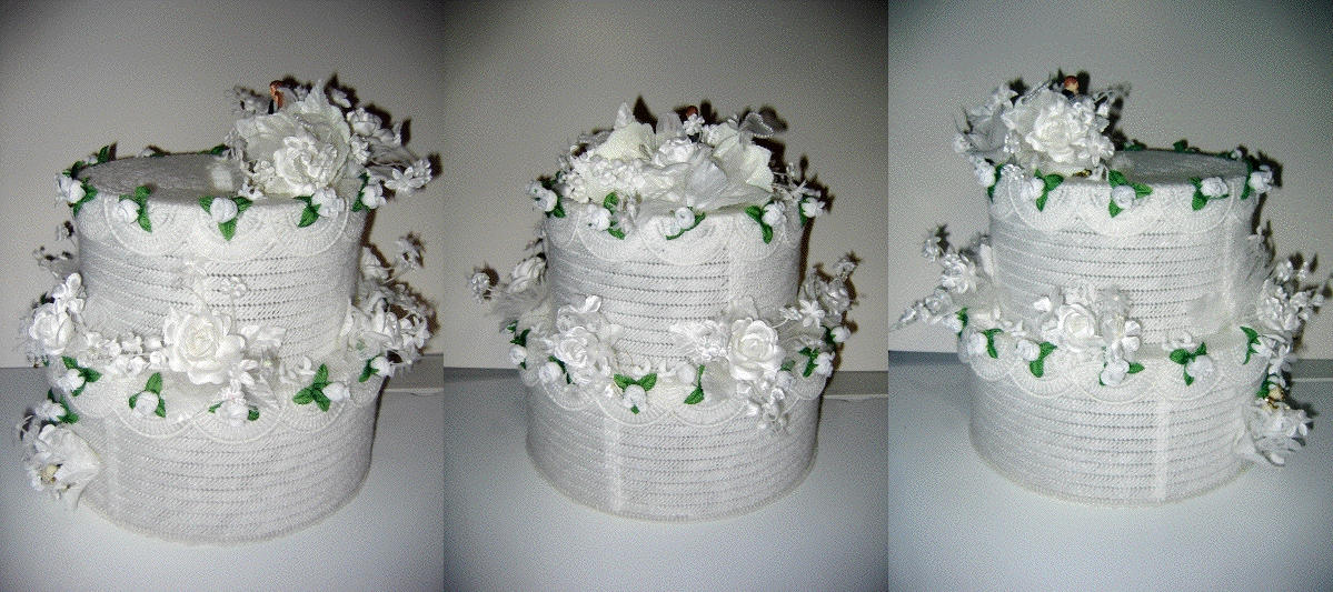 daisy flower wedding cakes