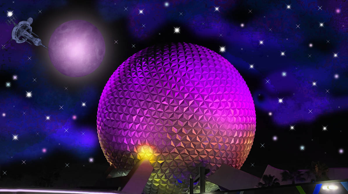 WP or Stock Background of Spaceship Earth