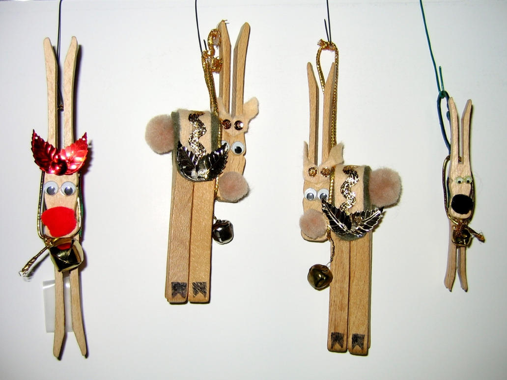 clothespin reindeer craft reindeer clothespin ornaments by wdwparksgal on deviantart 1329