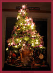 Christmas Tree Breakfast Table by WDWParksGal