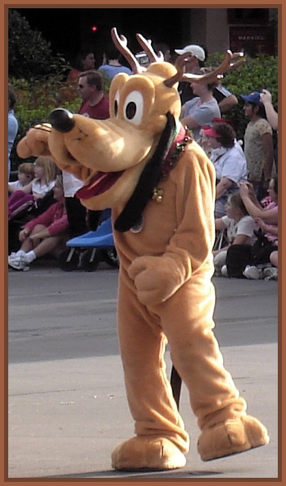 MGM Christmas Parade  Pluto 06 by WDWParksGal