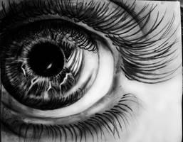 realistic eye by MortishaAdams