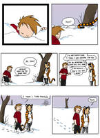 Don't Panic: Calvin+Hobbes 31 by EmpressFunk