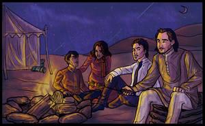 Hakim, Sammal, Karim, Zahir by EmpressFunk