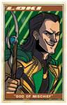 Avengers Poster: Loki