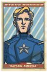 Avengers Poster: Captain America