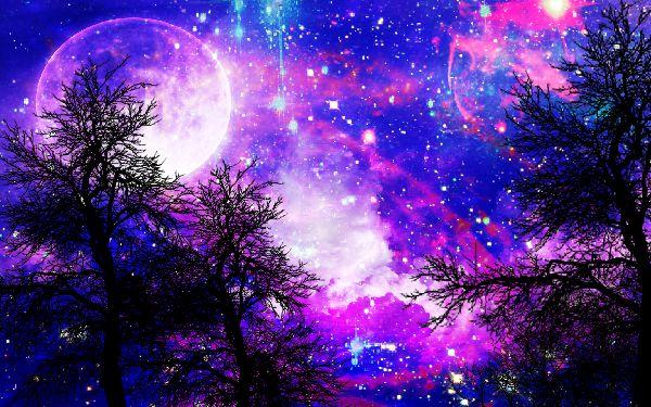 Tree Galaxy by BayleeBai on DeviantArt