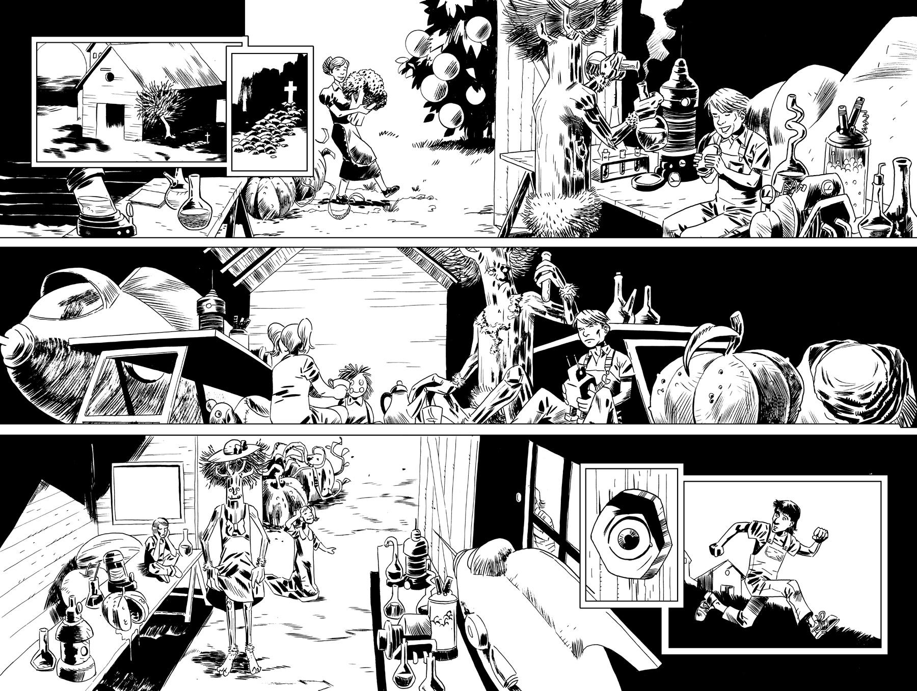 Timber Tom page 4, 5 by juanromera