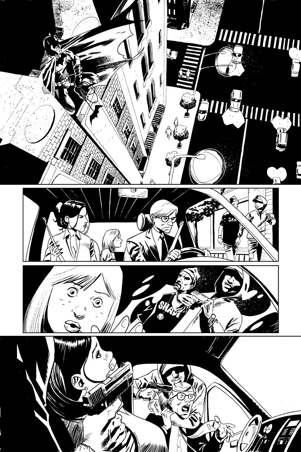 Batman Sample page 01 by juanromera