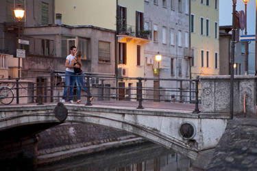 Bacio su un ponte... by maikelmak